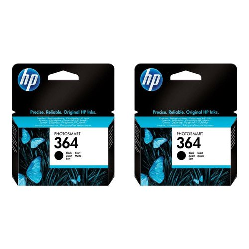 hewlett-packard-no364-twin-pack-ink-cartridges-genuine-schwarz