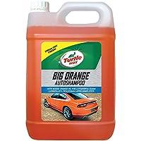Turtle Wax 52817 El Champú Grande para Automóviles De Color Naranja Limpia con Un Acabado Sin Rayas. 5 Litre
