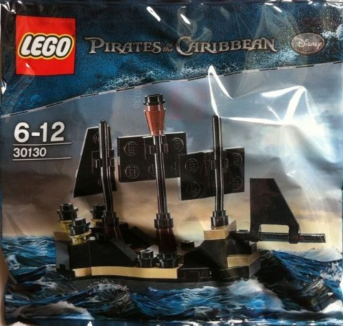 Lego pirati dei caraibi: mini nero pearl set 30130 (insaccato)