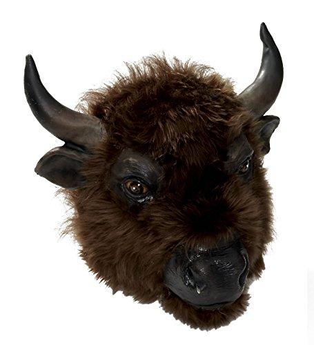 Deluxe Buffalo Mask Standard