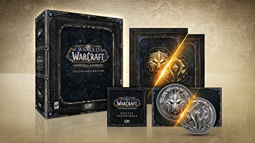 World of Warcraft: Battle for Azeroth Collectors Edition galerija