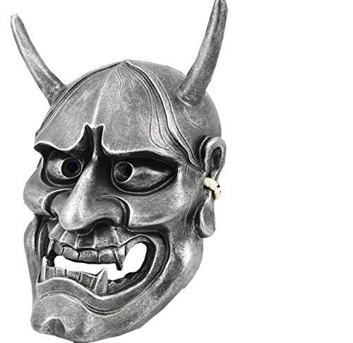 Xiao-masken Halloween Horror Cosplay Maske Buddhismus Prajna Ghost Traditionelle Hannya Maske Japanisches Thema Party Harz Maske Hohe Qualität