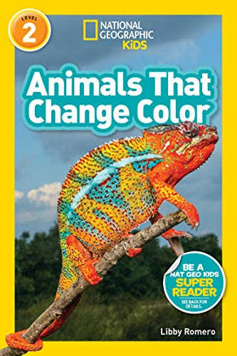 National Geographic Readers: Animals That Change Color (L2) (English Edition) Arctic Camouflage