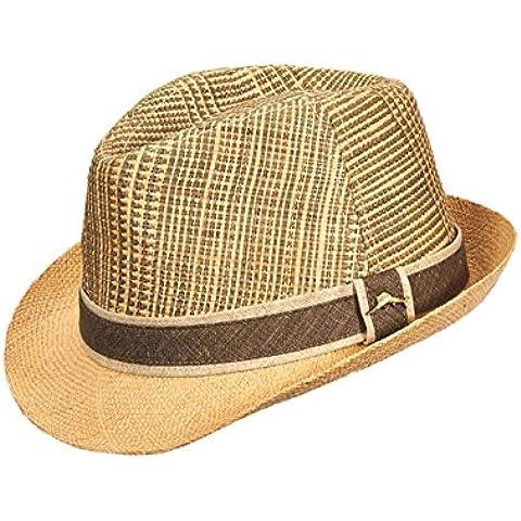 Tommy Bahama Headwear Cappello Fedora Plaid con