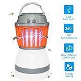 2 in 1 Campinglampe Mückenkiller,KidsHobby LED Campinglampe USB Aufladbar Moskito Killer Camping Laterne IP67 Wasserdicht Tragbare Camping Zeltlampe