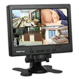 7' LCD CCTV Monitor with HDMI/VGA/AV Port Support 1080P for DSLR/PC/CCTV Camera/DVD/Car Backup Camera/Home Office Surveillance Security System