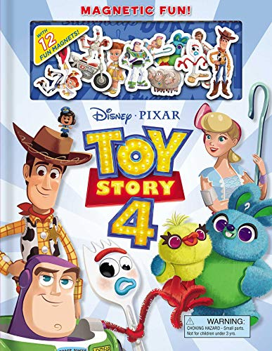 Disney/Pixar Toy Story 4 Magnetic Fun! [With 12+ Magnets]