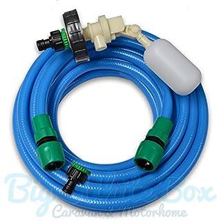 10m Mains Water adapter kit for Aquaroll - Caravan / Motorhome + Food Grade Hose - (BWV)