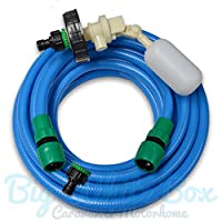 10m Mains Water adapter kit for Aquaroll - Caravan / Motorhome + Food Grade Hose - (BWV) 3