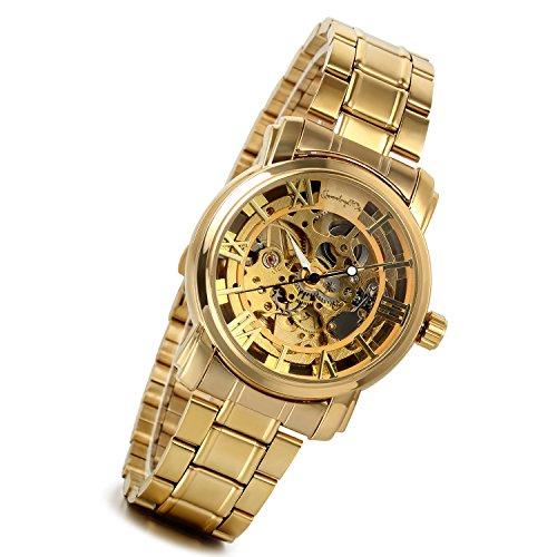 LANCARDO Herren Uhr Analog mit Edelstahl Armband LCD100532