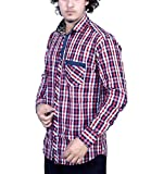 Bucci Men's Casual Shirt _bc107_Red_L