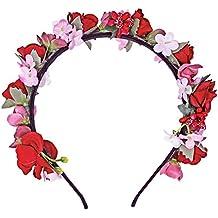 Blumen Haarreif Sabia - Bezaubernder Haarschmuck zum Dirndl, für Hochzeiten, Kommunion oder Festivals