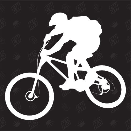 Mountainbike - Sticker