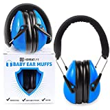 Safest Rated Baby Earmuffs: Best Padded Baby Ear Protector - Stylish and Adjustable Noise Cancelling Headphones for Babies and Toddlers - for Outdoor Safety and Hearing Protection