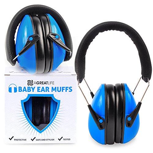 Cuffie per bambini più sicure: miglior protezione imbottita per gli orecchi - cuffie per bambini e neonati eleganti e con regolazione del rumore - per la sicurezza all'aperto e la protezione dell'ud
