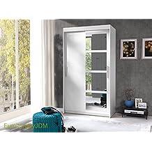 Spiegel kleiderschrank mit schiebetüren  Suchergebnis auf Amazon.de für: kleiderschrank breite 120 cm