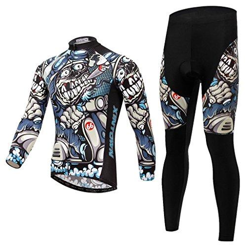 SKYSPER Ciclismo Maillot Hombres Jersey Pantalones