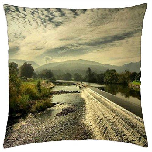 Cataract. - Throw Pillow Cover Case (18
