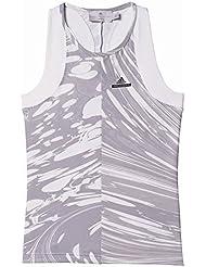 adidas G TANK - Camiseta sin mangas para niña, color blanco, talla 164