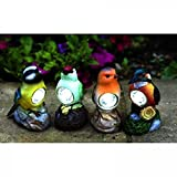 Solar Light Garden Bird Spotlight by Smart Solar