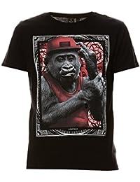 Japan rags - Japan rags - Tee-shirt homme MC MOOKIFOK noir