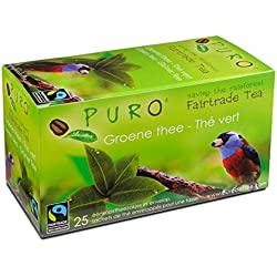 FAIRTRADE Miko Puro - Grüner Tee - Green Tea - je 25 Teebeutel