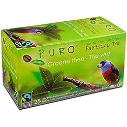 FAIRTRADE Miko Puro - Grüner Tee - Green Tea - je 25 Teebeutel