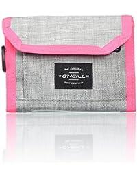 O'Neill Bm Pocketbook Wallet, Carteras Hombre, Grau (Silver Melee), 3x13,5x11 cm (B x H T)