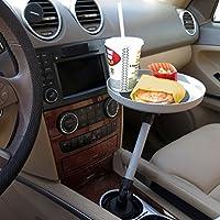 Evelots Timtina-Vassoio girevole auto per cibo Snacks camion Electronics-Porta-tazza