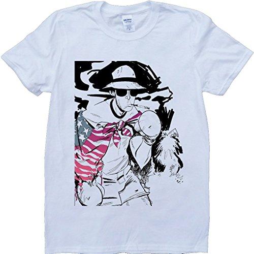 Jäger S Thompson Weiß Benutzerdefinierten Gemacht T-Shirt Weiß