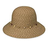 Wallaroo Hats Damen Hut Naomi, Meliert Braun, One Size, NAO-20-MB