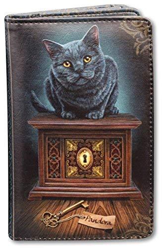 Damen Fantasy-Geldbörse mit Katze - Pandoras Box | Geldbeutel, Mehrfarbig -