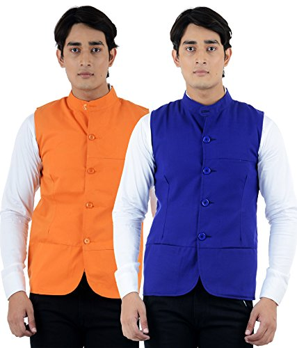 American-Elm-Mens-Multicolor-Summer-Modi-Jacket-Pack-of-2