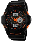 Boys Teenagers Kids Children Digital Sports Watches - Multifunction 50M Waterproof Electronic Sport Watch with LED Light Stopwatch Timer Alarm for Teenagers Junior Boys Kids Children