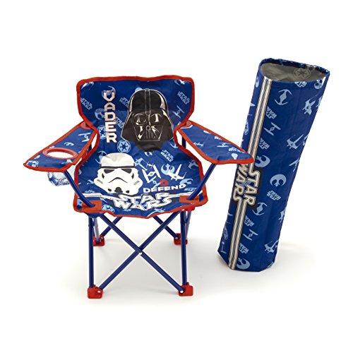 Faltstuhl Campingstuhl Klappstuhl Kinderstuhl - Star Wars Kinder Gartenstuhl Angelstuhl Darth Vader Storm Trooper