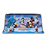 Ufficiale Disney Mickey Mouse Christmas Carol 6 Figurine Playset