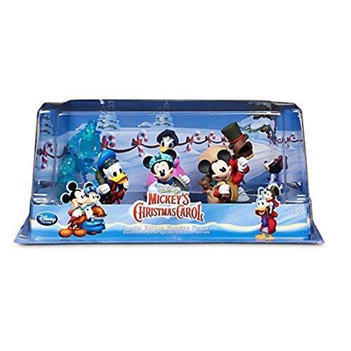Ufficiale Disney Mickey Mouse Christmas Carol 6 Figurine Playset
