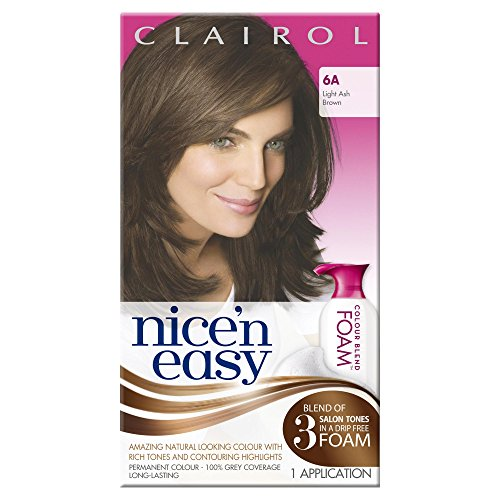Clairol Nice n Easy Colour Blend foam 6A Light Ash Brown