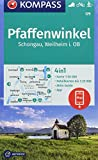 KOMPASS Wanderkarte Pfaffenwinkel, Schongau, Weilheim i. OB: 4in1 Wanderkarte 1:50000 mit Aktiv Guide und Detailkarten inklusive Karte zur offline ... Langlaufen. (KOMPASS-Wanderkarten, Band 179) -
