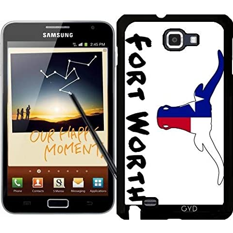 Custodia per Samsung Galaxy Note GT-N7000 (I9220) - Fort Worth Texas by loki1982