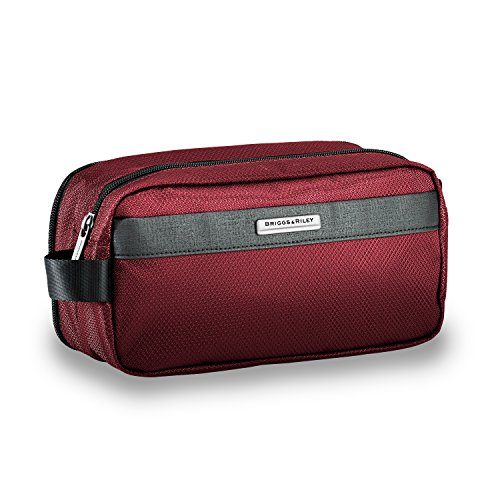 Briggs & Riley Transcend Toiletry Kit, 24cm, 1.2 litres, Merlot Trousse de Toilette, 24 cm, liters, Rouge (Merlot)