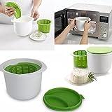 Rosepoem Mikrowelle Silikon Käse Maker DIY Nachtisch Gesunder Behälter Küchenwerkzeug Käse-Herstellung-Werkzeug Geschirr Lebensmittel