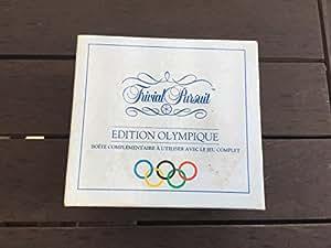 Trivial Pursuit - Edition Olympique (Boite complémentaire à utiliser avec le jeu)