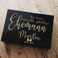 Geschenkbox Bräutigam Hochzeit - Hochzeitsgeschenk für Männer - Morgengabe