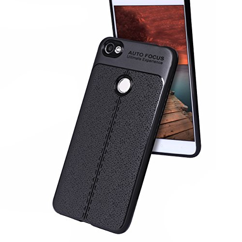 Redmi Y1 AutoFocus All Side 360 Full Protection Soft Silicone TPU Flexible Black Auto Focus Back Cover For Xiaomi Mi Redmi Y1 - Redmi Y1 Back Cover