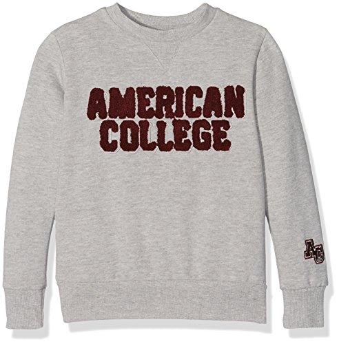 American College JBOOKLET2, Felpa Bambino, Grigio (Light Grey), 12 Anni