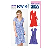 KwikSew Schnittmuster 3489 Kleid XS-S-M-L-XL