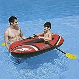 Flotador Barca Inflable 153x97cm Con Remos