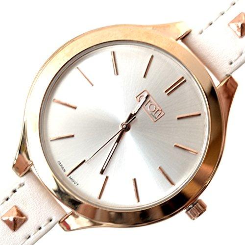 Reloj Pulsera Tachuelas Blanco