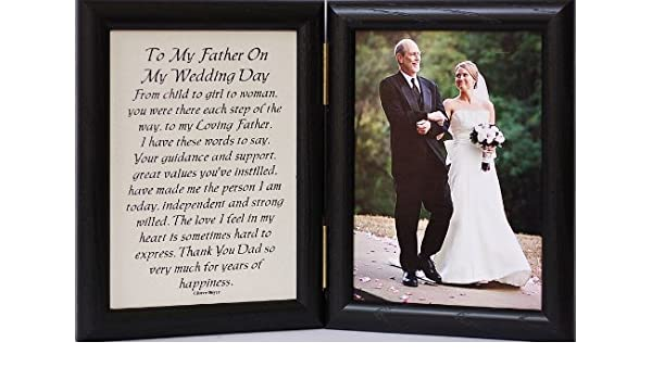 Buy 5x7 Hinged TO MY DAUGHTER ON YOUR WEDDING DAY Poem